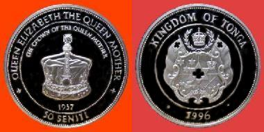 1996 50 SENITI CROWN OF THE QUEEN 003